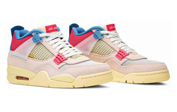 "DC9533-800 Union x Air Jordan 4 Retro ""Guava Ice"" Will Coming On August 29th"