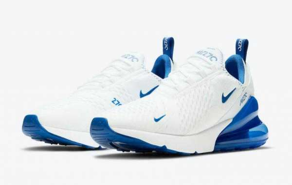 New Nike Air Max 270 Release White and Blue Colorway