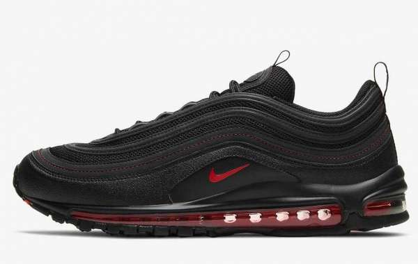 DH4092-001 Nike Air Max 97 Reflective Black Red Coming Soon