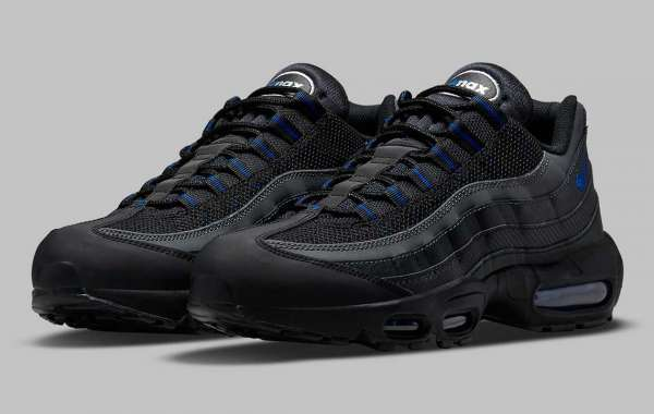 DM9104-001 Plaid stripes bring a race-inspired look to Nike Air Max 95