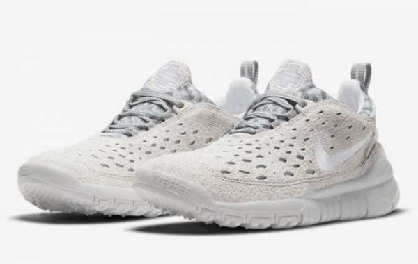 "2021 Latest Nike Free Run Trail ""Neutral Grey"" Online Sale CW5814-002"